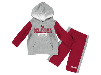 Oklahoma Sooners Colosseum NCAA Newborn We Got Us Fleece Set