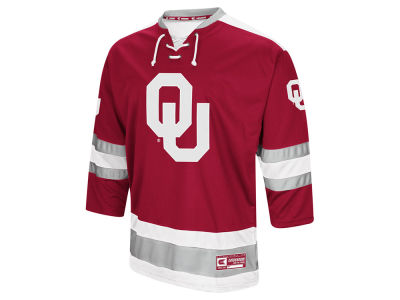 Oklahoma Sooners Colosseum NCAA Men's Fashion Hockey Jersey