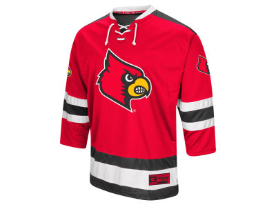 Louisville Cardinals Colosseum NCAA Men's Fashion Hockey Jersey