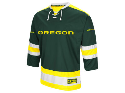 Oregon Ducks Colosseum NCAA Men's Fashion Hockey Jersey