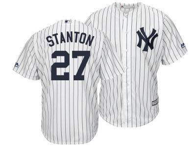 New York Yankees Giancarlo Stanton Majestic MLB Men's Player Replica Cool Base 3XL-6XL Jersey