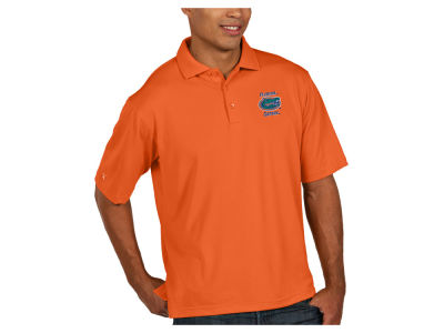 Florida Gators Antigua NCAA Men's Pique Xtra-Lite Polo