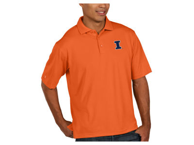 Illinois Fighting Illini Antigua NCAA Men's Pique Xtra-Lite Polo