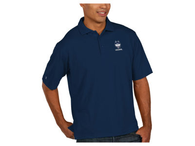 Connecticut Huskies Antigua NCAA Men's Pique Xtra-Lite Polo