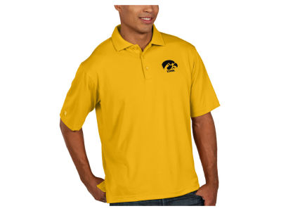 Iowa Hawkeyes Antigua NCAA Men's Pique Xtra-Lite Polo