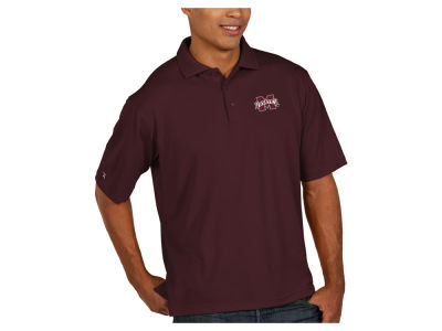 Mississippi State Bulldogs Antigua NCAA Men's Pique Xtra-Lite Polo