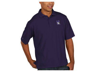 Northwestern Wildcats Antigua NCAA Men's Pique Xtra-Lite Polo