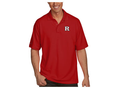 Rutgers Scarlet Knights Antigua NCAA Men's Pique Xtra-Lite Polo