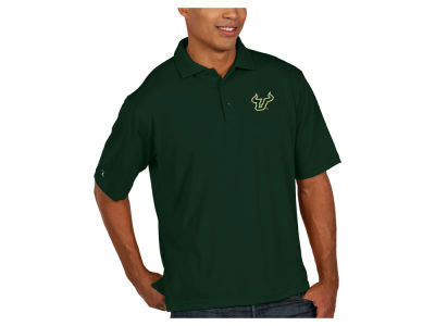 South Florida Bulls Antigua NCAA Men's Pique Xtra-Lite Polo