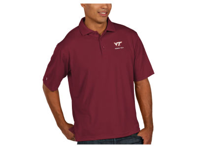 Virginia Tech Hokies Antigua NCAA Men's Pique Xtra-Lite Polo