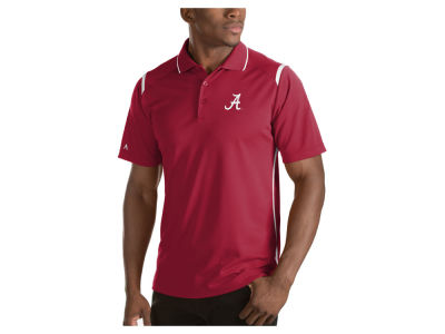 Alabama Crimson Tide Antigua NCAA Men's Merit Polo Shirt