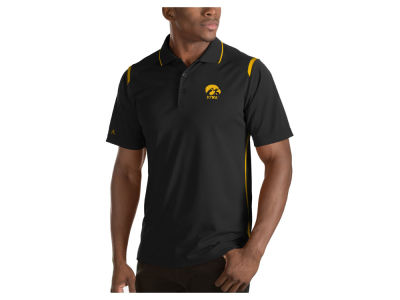 Iowa Hawkeyes Antigua NCAA Men's Merit Polo Shirt