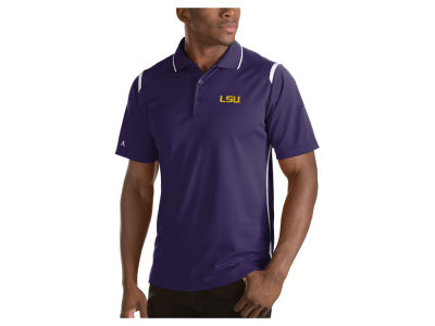 LSU Tigers Antigua NCAA Men's Merit Polo Shirt