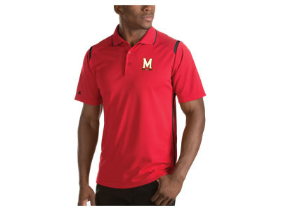 Maryland Terrapins Antigua NCAA Men's Merit Polo Shirt