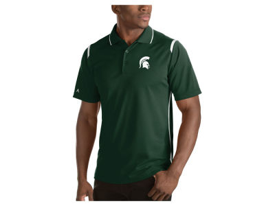 Michigan State Spartans Antigua NCAA Men's Merit Polo Shirt