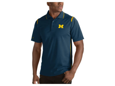 Michigan Wolverines Antigua NCAA Men's Merit Polo Shirt