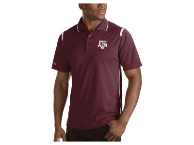 Texas A&M Aggies Antigua NCAA Men's Merit Polo Shirt