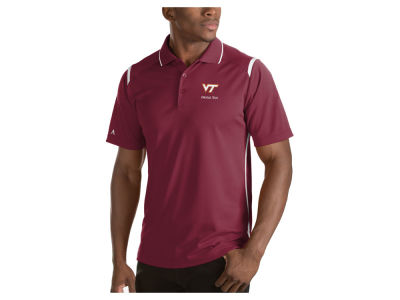Virginia Tech Hokies Antigua NCAA Men's Merit Polo Shirt