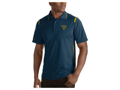 West Virginia Mountaineers Antigua NCAA Men's Merit Polo Shirt