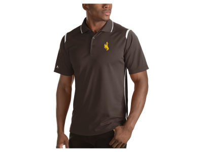 Wyoming Cowboys Antigua NCAA Men's Merit Polo Shirt