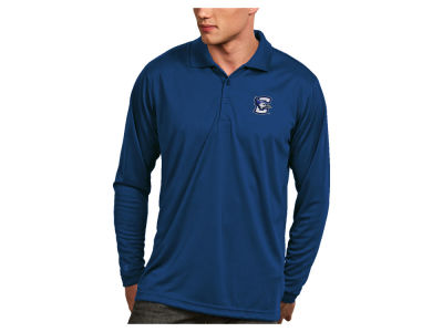 Creighton Blue Jays Antigua NCAA Men's Long Sleeve Exceed Polo