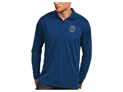 Florida Gators Antigua NCAA Men's Long Sleeve Exceed Polo