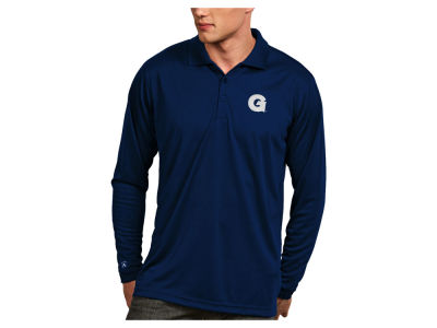 Georgetown Hoyas Antigua NCAA Men's Long Sleeve Exceed Polo