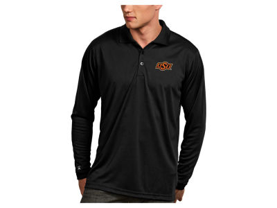 Oklahoma State Cowboys Antigua NCAA Men's Long Sleeve Exceed Polo