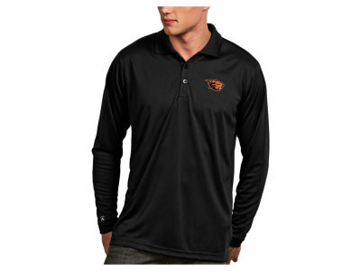Oregon State Beavers Antigua NCAA Men's Long Sleeve Exceed Polo