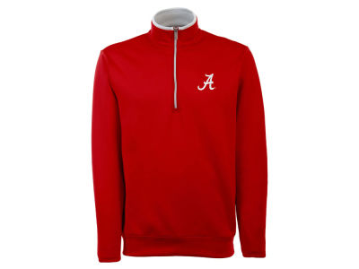Alabama Crimson Tide Antigua NCAA Men's  Leader 1/4 Zip Pullover