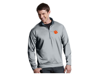 Clemson Tigers Antigua NCAA Men's  Leader 1/4 Zip Pullover