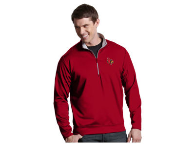 Louisville Cardinals Antigua NCAA Men's  Leader 1/4 Zip Pullover