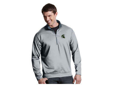 Michigan State Spartans Antigua NCAA Men's  Leader 1/4 Zip Pullover