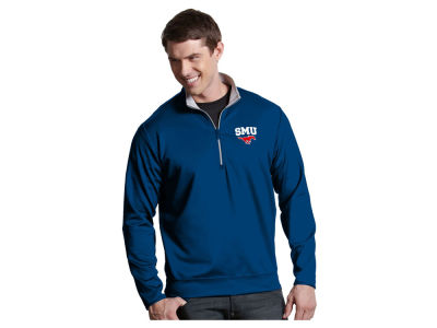 Southern Methodist Mustangs Antigua NCAA Men's  Leader 1/4 Zip Pullover