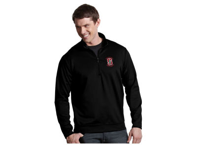 Stanford Cardinal Antigua NCAA Men's  Leader 1/4 Zip Pullover