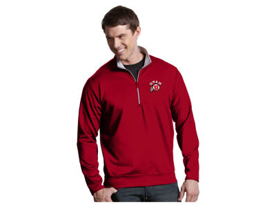 Utah Utes Antigua NCAA Men's  Leader 1/4 Zip Pullover