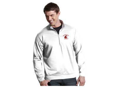 Washington State Cougars Antigua NCAA Men's  Leader 1/4 Zip Pullover
