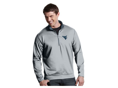 West Virginia Mountaineers Antigua NCAA Men's  Leader 1/4 Zip Pullover
