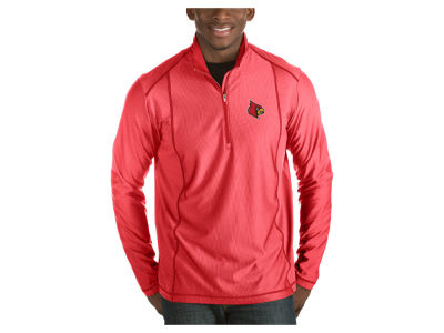 Louisville Cardinals Antigua NCAA Men's Tempo Pullover