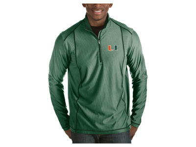 Miami Hurricanes Antigua NCAA Men's Tempo Pullover