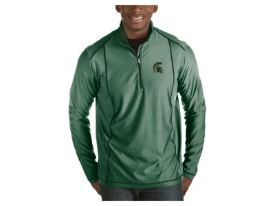 Michigan State Spartans Antigua NCAA Men's Tempo Pullover