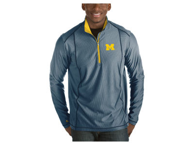 Michigan Wolverines Antigua NCAA Men's Tempo Pullover
