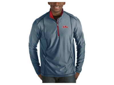 Ole Miss Rebels Antigua NCAA Men's Tempo Pullover