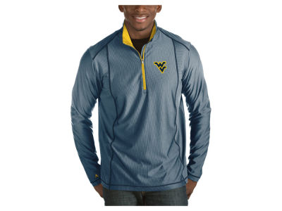 West Virginia Mountaineers Antigua NCAA Men's Tempo Pullover