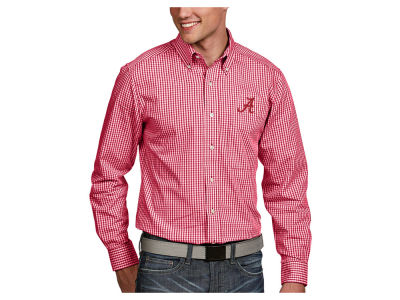 Alabama Crimson Tide Antigua NCAA Men's Associate Button Up Shirt