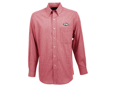 Arkansas Razorbacks Antigua NCAA Men's Associate Button Up Shirt