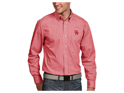 Houston Cougars Antigua NCAA Men's Associate Button Up Shirt