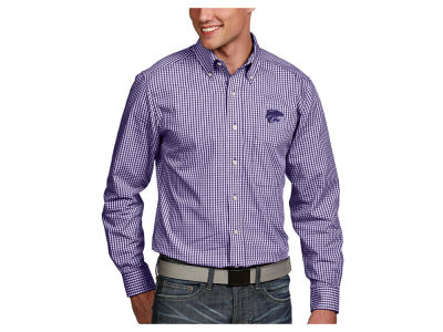 Kansas State Wildcats Antigua NCAA Men's Associate Button Up Shirt