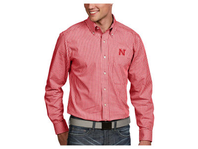 Nebraska Cornhuskers Antigua NCAA Men's Associate Button Up Shirt