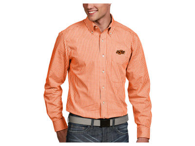 Oklahoma State Cowboys Antigua NCAA Men's Associate Button Up Shirt